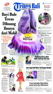 Cover Tribun Bali 21 November 2018