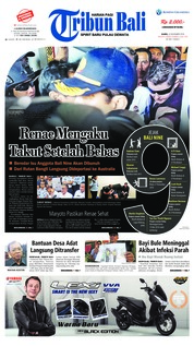 Cover Tribun Bali 22 November 2018