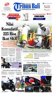 Cover Tribun Bali 23 November 2018