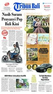 Cover Tribun Bali 28 November 2018