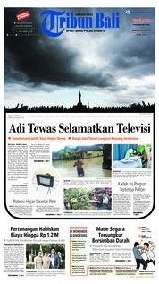 Cover Tribun Bali 29 November 2018