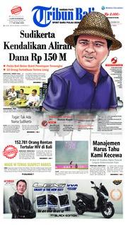 Cover Tribun Bali 04 Desember 2018