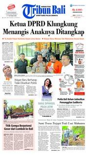 Cover Tribun Bali 07 Desember 2018