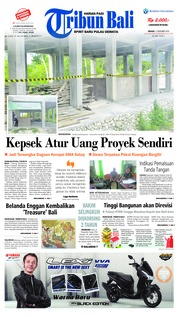 Cover Tribun Bali 11 Desember 2018