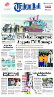 Cover Tribun Bali 14 Desember 2018