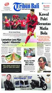 Cover Tribun Bali 20 Januari 2019