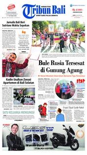 Cover Tribun Bali 26 Januari 2019