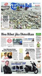 Cover Tribun Bali 27 Januari 2019