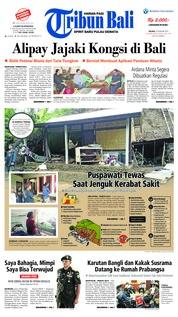 Cover Tribun Bali 29 Januari 2019