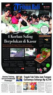 Cover Tribun Bali 30 Januari 2019