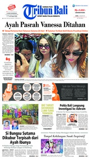 Cover Tribun Bali 31 Januari 2019