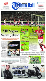 Cover Tribun Bali 02 Februari 2019