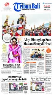 Cover Tribun Bali 07 Februari 2019