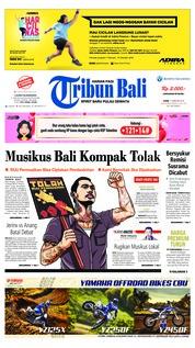 Cover Tribun Bali 11 Februari 2019