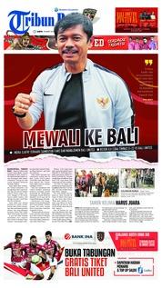 Cover Tribun Bali 16 Maret 2019