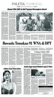 Tribun Bali Cover 21 March 2019