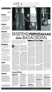 Cover Tribun Bali 24 Maret 2019