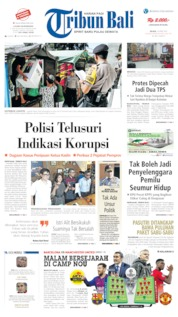 Cover Tribun Bali 16 April 2019