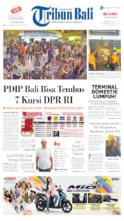 Cover Tribun Bali 20 April 2019