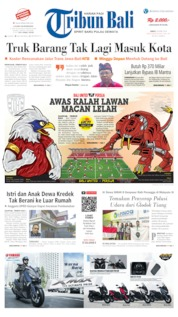 Tribun Bali Cover 26 April 2019