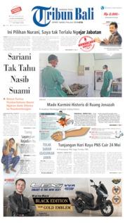 Cover Tribun Bali 04 Mei 2019