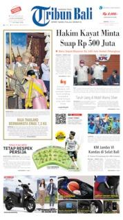Cover Tribun Bali 05 Mei 2019