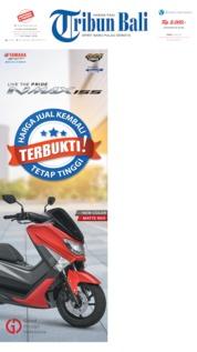 Cover Tribun Bali 06 Mei 2019