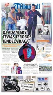 Cover Tribun Bali 07 Mei 2019