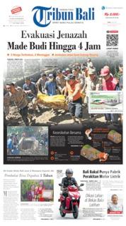 Cover Tribun Bali 08 Mei 2019