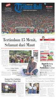 Cover Tribun Bali 09 Mei 2019