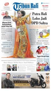 Cover Tribun Bali 11 Mei 2019