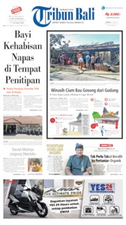 Tribun Bali Cover 12 May 2019