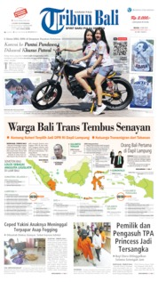 Tribun Bali Cover 14 May 2019
