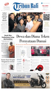 Tribun Bali Cover 18 May 2019