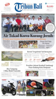 Tribun Bali Cover 19 May 2019