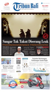 Tribun Bali Cover 20 May 2019
