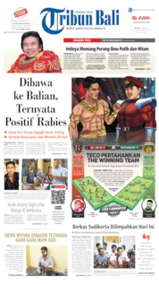 Tribun Bali Cover 21 May 2019
