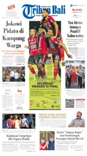Tribun Bali Cover 22 May 2019