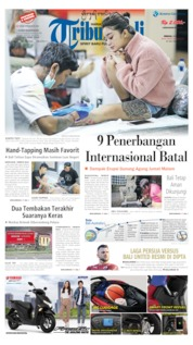 Tribun Bali Cover 26 May 2019