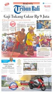 Cover Tribun Bali 27 Mei 2019