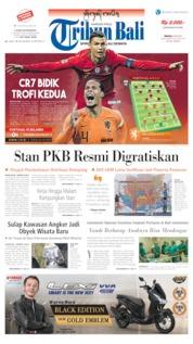 Cover Tribun Bali 09 Juni 2019