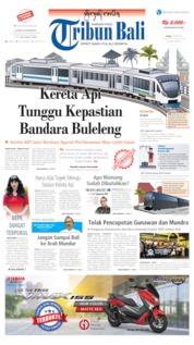 Cover Tribun Bali 10 Juni 2019