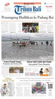 Cover Tribun Bali 12 Juni 2019