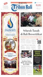 Cover Tribun Bali 15 Juni 2019