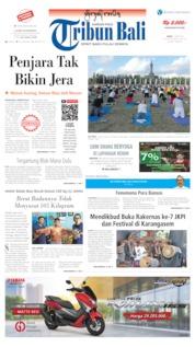 Tribun Bali Cover 17 June 2019