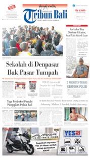 Tribun Bali Cover 18 June 2019