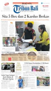 Cover Tribun Bali 21 Juni 2019
