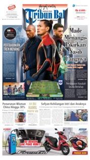 Cover Tribun Bali 22 Juni 2019