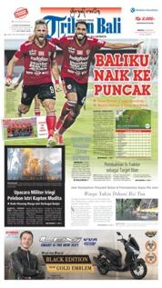 Cover Tribun Bali 23 Juni 2019