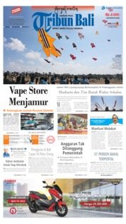 Tribun Bali Cover 24 June 2019